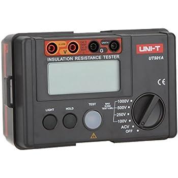 UNI-T UT501A Isolierung widerstand Megohmmeter Voltmeter 1000V Test LCD