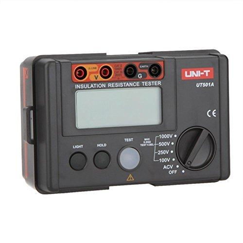 Signstek Brandneu UNI-T UT501A 1000V LCD Isolation und Widerstand Tester mit AC- und DC Spannung
