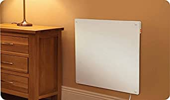 infrarot elektro wandheizung flachheizung heizger t heizk rper heizpaneel 425w passt zu jedem. Black Bedroom Furniture Sets. Home Design Ideas