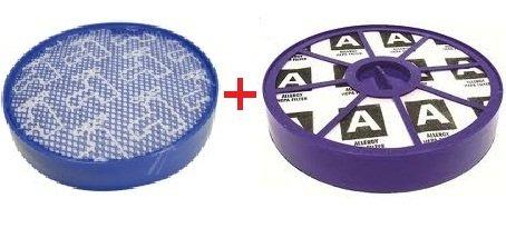 HEPA Allergie Filter Set für Dyson DC19 DC20 DC21 DC29 Vor-motor Filter undNach-motor Filter Filterklasse H13 neues Modell