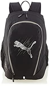 Puma Polyester Black Casual Backpack (7258001)