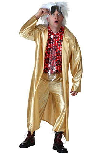 Plus Size Back to The Future II Doc Brown Fancy Dress Costume 2X (Future Back The To Dress Doc Fancy)