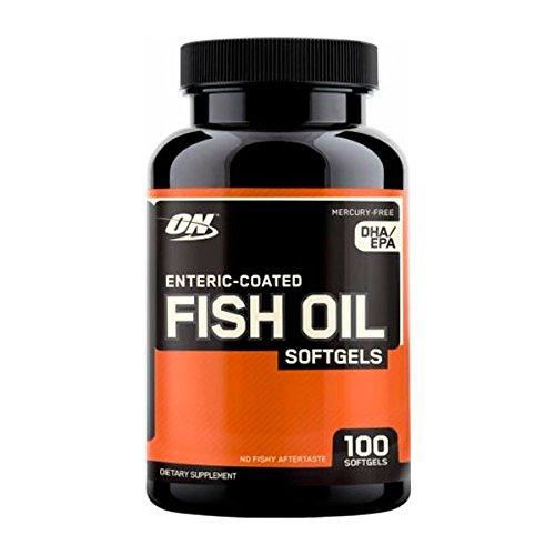 Optimum nutrition Fish Oil - 100 softgel - 41SUaFh23OL