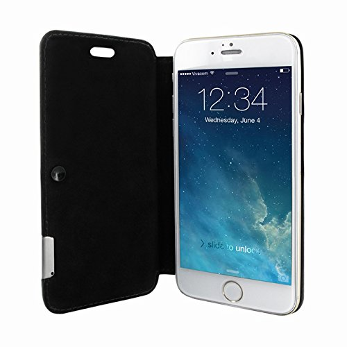 Piel Frama 677SWB PIELFRAMA 677SWB Swaro Case für Apple iPhone 6 in blau Negro (Stingray black)