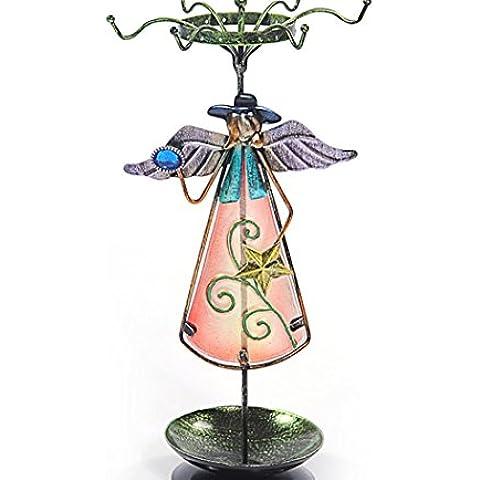 XYXY Dipinti a cremagliera di immagazzinaggio di gioielli titolare gioielli orecchini - Mostra Acrilico Contenitore