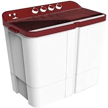 Videocon WM VS75Z13-DMA Zaara Grande Semi-automatic Top-loading Washing Machine (7.5 Kg, Dark Maroon)