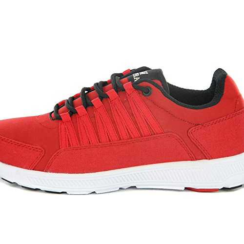 Supra Owen Low Top Retro Sneaker in 2 Farben Red