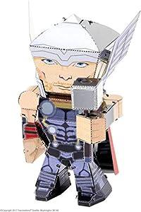 Metal Earth MEM004 Modelo de Metal de Los Vengadores Thor