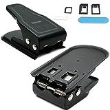 Ciscle Coupeur Pour La Carte SIM/Micro/Nano 2 en 1 Coupeur Pour La Carte SIM/Micro/Nano (Noir)