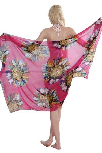 "Antemi - Damen - Sarong Summer Flowers "" Lisbeth "" Violett"