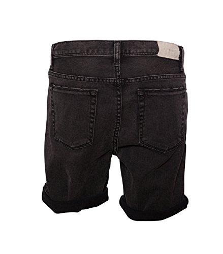 IRO Damen Jeansshorts Jane schwarz-grau 10 black / dk.grey