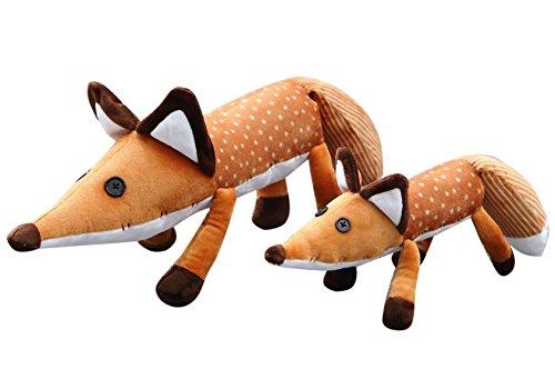 VERCART Kinderspielzeug niedlich Große Schwanz Fuchs Plüschtiere 40CM (Großen Schaf Für Kostüm Hund)