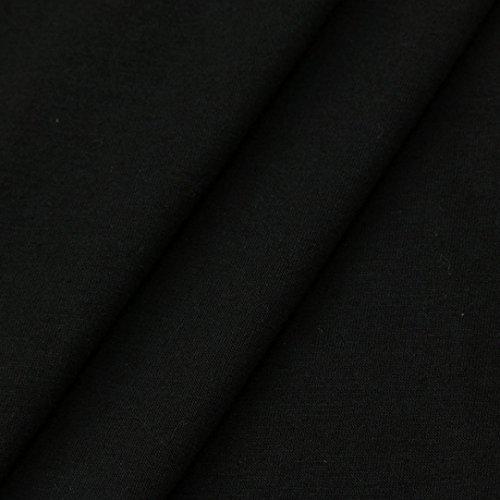 AMUSTER Donne Sciolto Casual Cappotto Lungo Camicia Manica Corta Con Cappuccio Felpa Jumper Pullover Top D