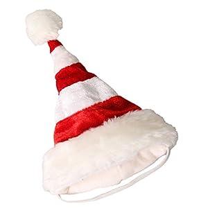 Baoblaze Chapeau de Noël pour Chien d'Hiver Chaud Décor pour Chien en Fête
