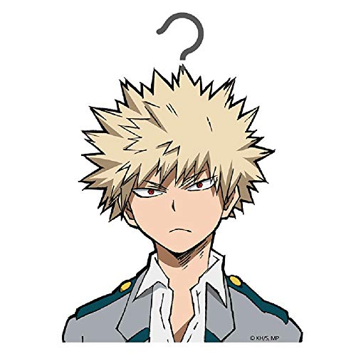 Kostüm Beamter - ALTcompluser Anime My Hero Academia Kleiderbügel für Anzug/Kostüm, süßer Anzugbügel(Bakugou Katsuki)