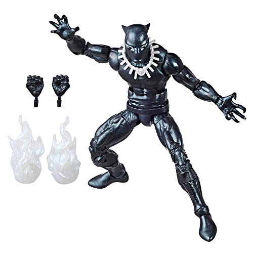 Hasbro Marvel Retro 6-inch Collection Black Panther Figure (Ultimate Black Panther)