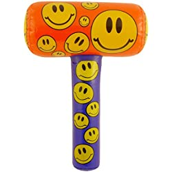 fantaisie gonflable 48cm Smiley Face Maillet