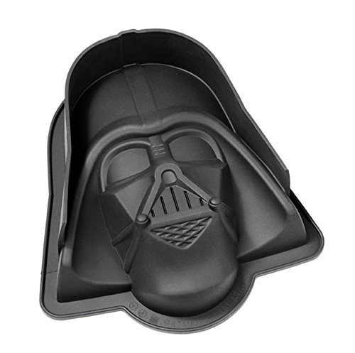 Star Wars XL Backform Darth Vader, Kuchenform aus Silikon 22x 20,5x 6,8 cm