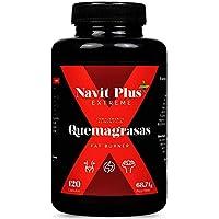 Quemagrasas potente para adelgazar. Suplemento deportivo para adelgazar Fat Burner de Navit Plus EXTREME.