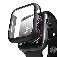 Microsonic Apple Watch Series 3 42mm Kılıf Matte Premium Slim WatchBand Siyah