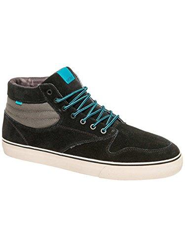 Element Topaz C3 Mid Herren Skateboardschuhe Black