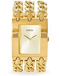 Guess Damen-Armbanduhr Analog Quarz Edelstahl W0314L2