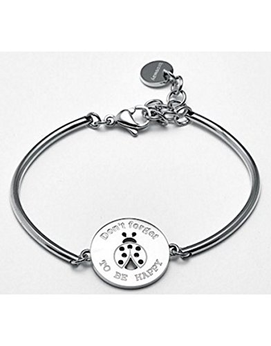 Bracelet en acier inoxydable dur avec les femmes COCCINELLA central Brosway BHK50