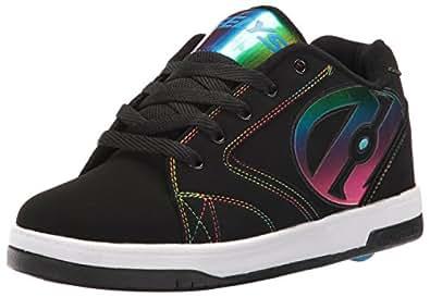 Heelys Propel 2.0, Sneaker a Collo Basso Bambino, Nero (Black/Rainbow Foil), 31 EU