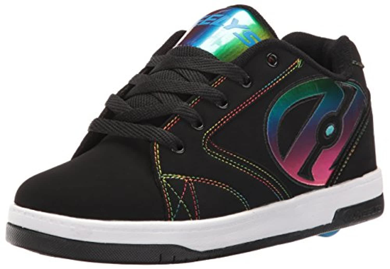 Heelys Propel 2.0, Girls' Low Trainers, Nero (Black/Rainbow Foil), 1 UK