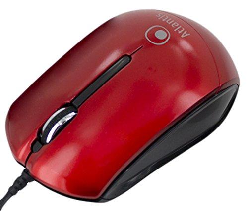 Atlantis P009-KM23-RD Mini Mouse Ótico Vermelho