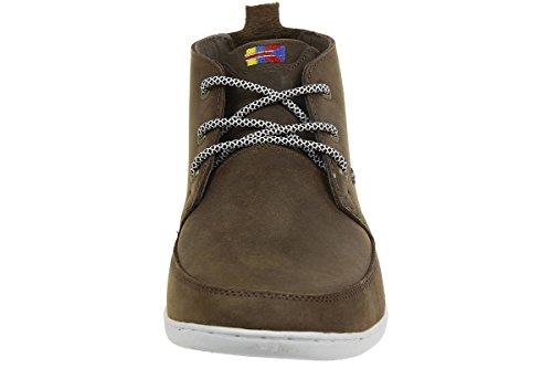 Boxfresh SYMMONS HAR LEA Herren Sneaker E13839 braun Leder Braun