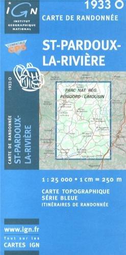 St-Pardoux-la-Riviere: IGN1933O par IGN