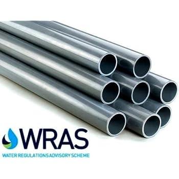 40mm 1 2m Length 10 bar (PN10) rated PVC pressure pipe (pack