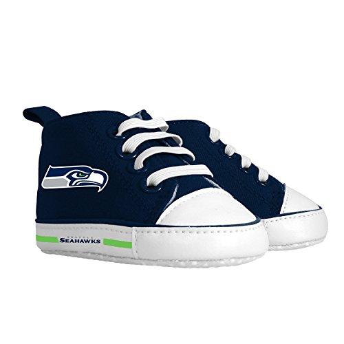 Baby Fanatic Pre-Walker Hightop, Seattle Seahawks by Baby Fanatic -