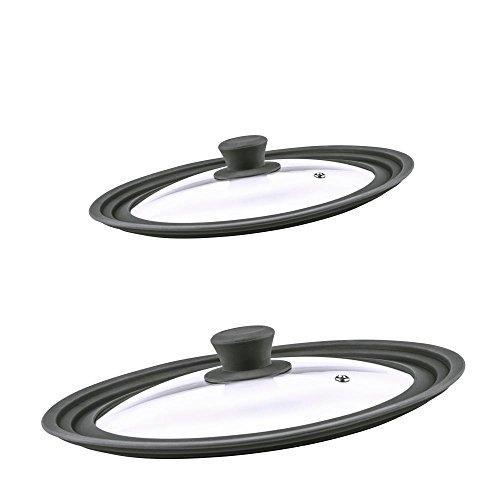 culinario-2-couvercles-universels-en-verre-pour-casserole-poele-trou-vapeur-contour-silicone-anthrac