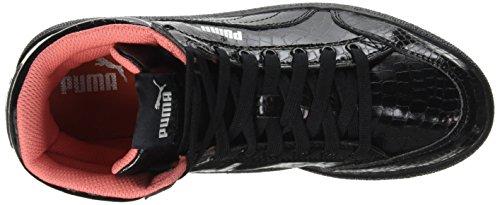 Puma Ikaz Mid Serp, Baskets Hautes Fille Noir (Black/Black)