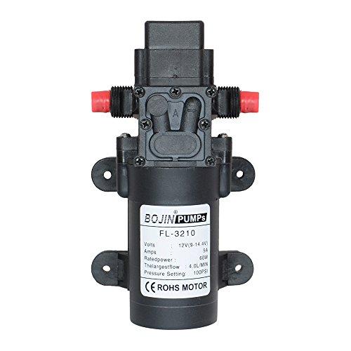 Preisvergleich Produktbild DC12 V 100 PSI 4L / M Wasser High Druck Membran selbstansaugend Pumpe Caravan / Boot / Wohnmobil- / Garten
