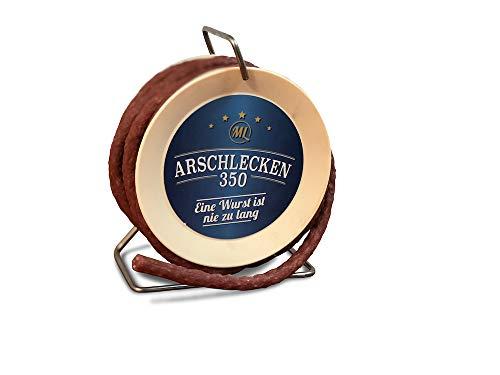 Arschlecken 350 Scharfe Snack-Wurst in der Kabeltrommel, 3,5m lang, 240g