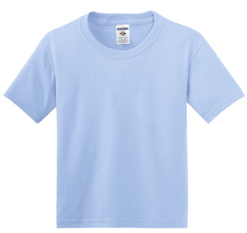 Jerzees Jungen Ful Tone Tablet Etikett-Korpus Blau - Hellblau