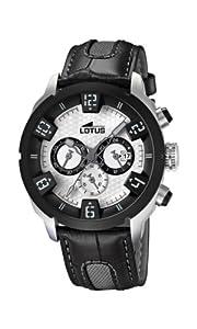 Reloj de caballero Lotus UL15787/1 de cuero Resistente al agua