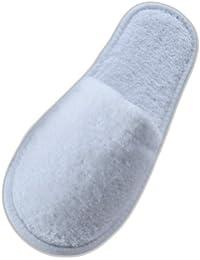 Zapatillas de baño de rizo, 100% algodón, 1 par oder 2 pares