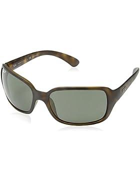 Ray-Ban 894/58 4068 Gafas de sol, Wayfarer, Polarizadas, 60, Negro