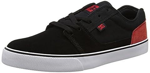 DC Shoes Men Tonik Low-Top Sneakers, Black (Black/Red/White), 11 UK