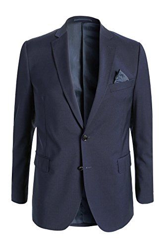 ESPRIT Collection - Veste De Costume Homme Bleu - Bleu marine