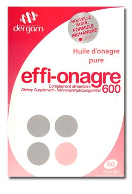Effi-onagre Huile D'onagre Pure 60caps
