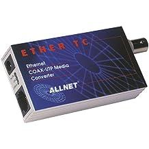 Allnet ALL0500 - Conversor de conector TP a conector BNC (10 Mbit)