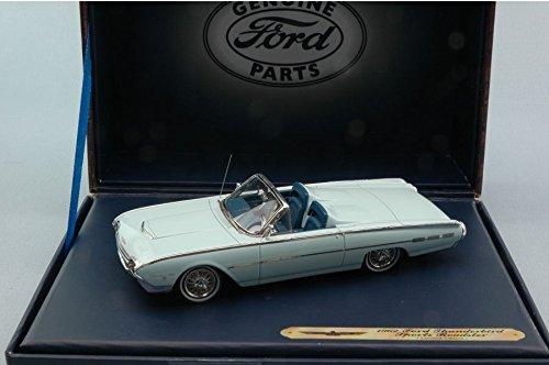 FORD THUNDERBIRD SPORT ROADSTER 1962 LIGHT BLUE 1:43 Ford Genuine Parts Auto Stradali modello modellino die cast