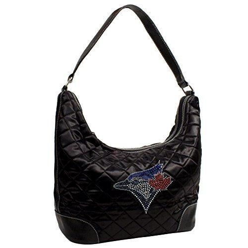 mlb-toronto-blue-jays-sport-noir-quilted-hobo-bag-black-by-littlearth
