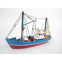 Blue Dolphin Starter Kit del barco: Construya su propio barco de pesca Modelo de madera del barco