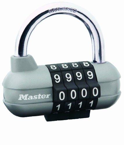 Master Lock 1520EURD Candado para Vestuario de Combinación Programabl